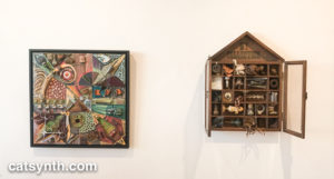 Kasper Rodenborn Collage and Assemblage
