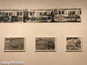 Gordon Matta-Clark Subway and Graffiti series