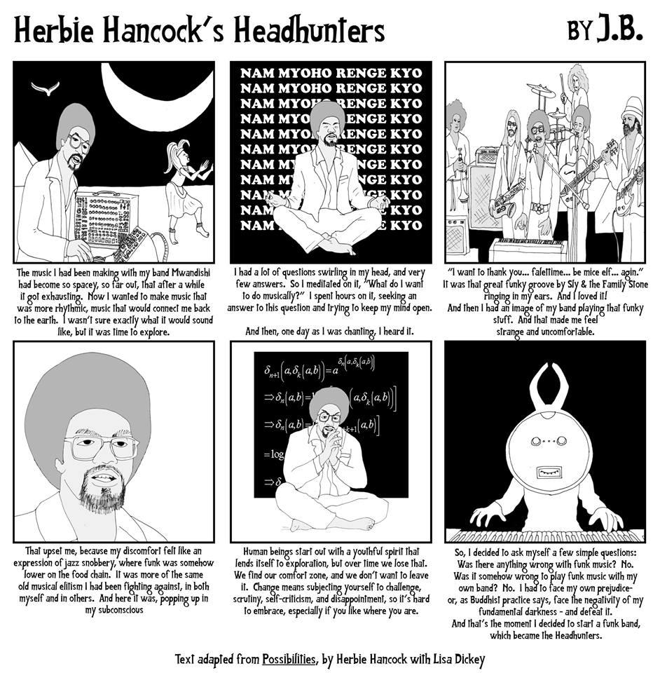 Herbie Hancock's Headhunters