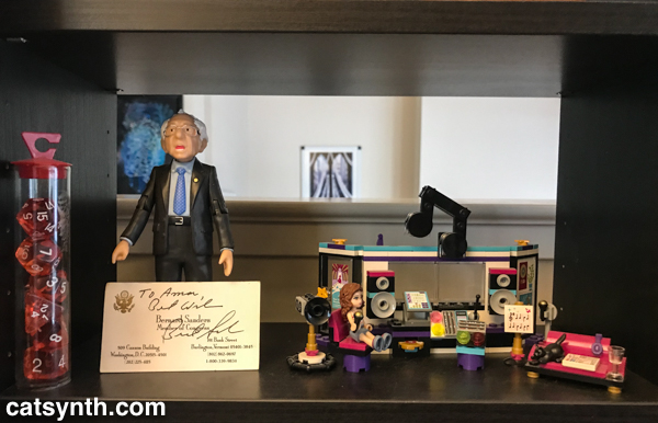 Bernie and Lego Studio