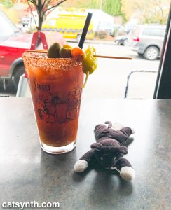 Bloody Mary at Jam on Hawthorne