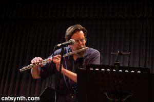 David Slusser on flute