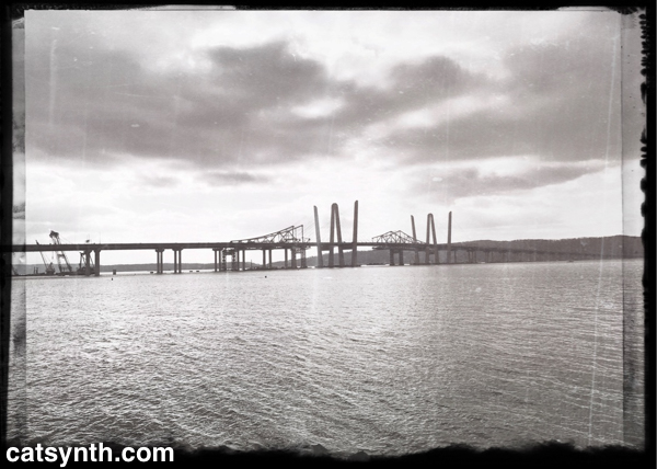 Tappan Zee Bridge (new and old)