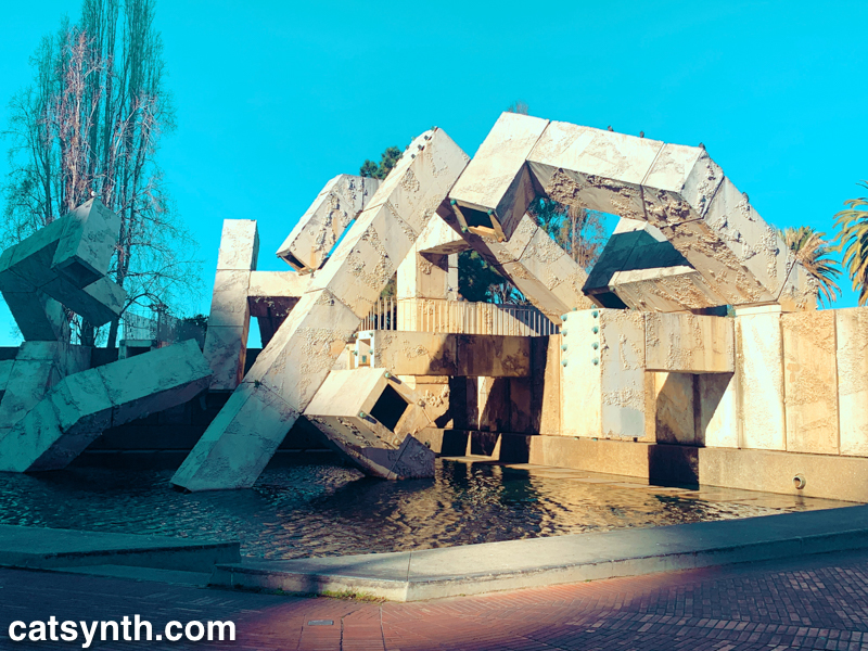 vaillancourt fountain in embarcadero plaza